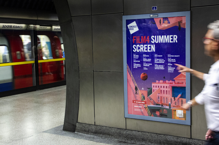 C4 Summer Screen Poster Tube