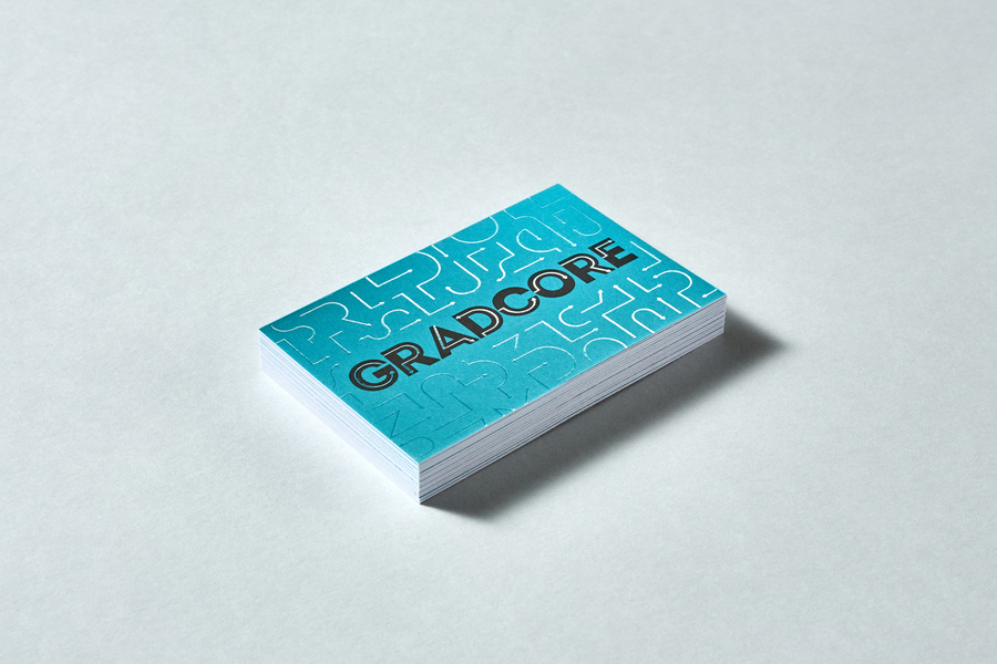 Gradcore business cards